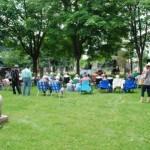 Cemetery Memorial Service June 21, 2015
