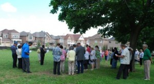 Consecrating New Cemetery Lands June 21, 2015