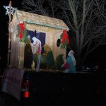 Bethesda Float at Unionville Christmas Parade 2015