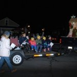 Singing Carols at Unionville Christmas Parade 2015