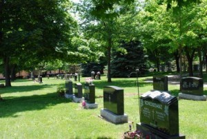 Beautiful Cemetery Grounds